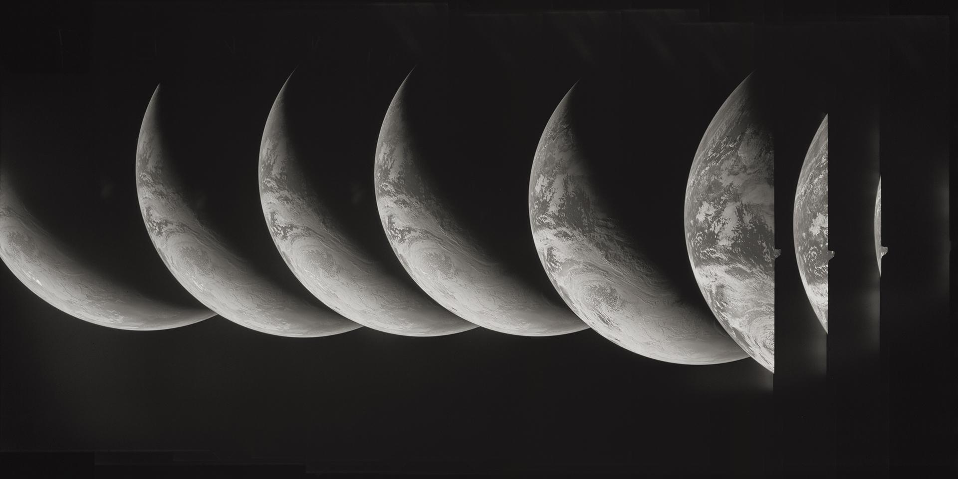 Apollo 4    AS04. Rollo 1. Centenas Fotogramas 1 al 300. 9 de noviembre de 1967.
