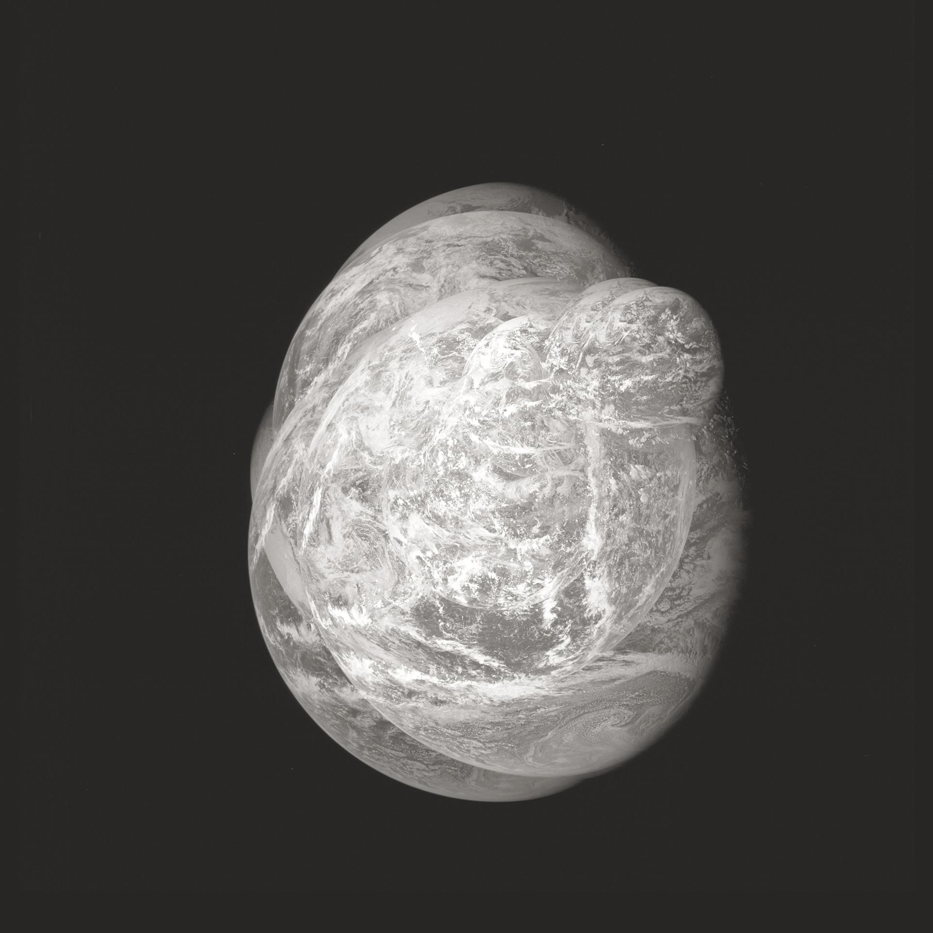Apollo 11    AS11. Rollo 36, Fotogramas 5330 AL 5368.  24 de julio de 1969.