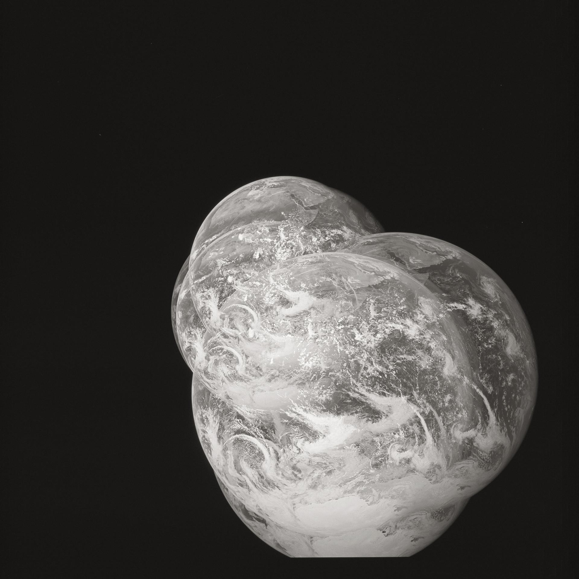 Apollo 17    AS17. Rollo 148. Fotogramas 25 al 33. Diciembre de 1972.