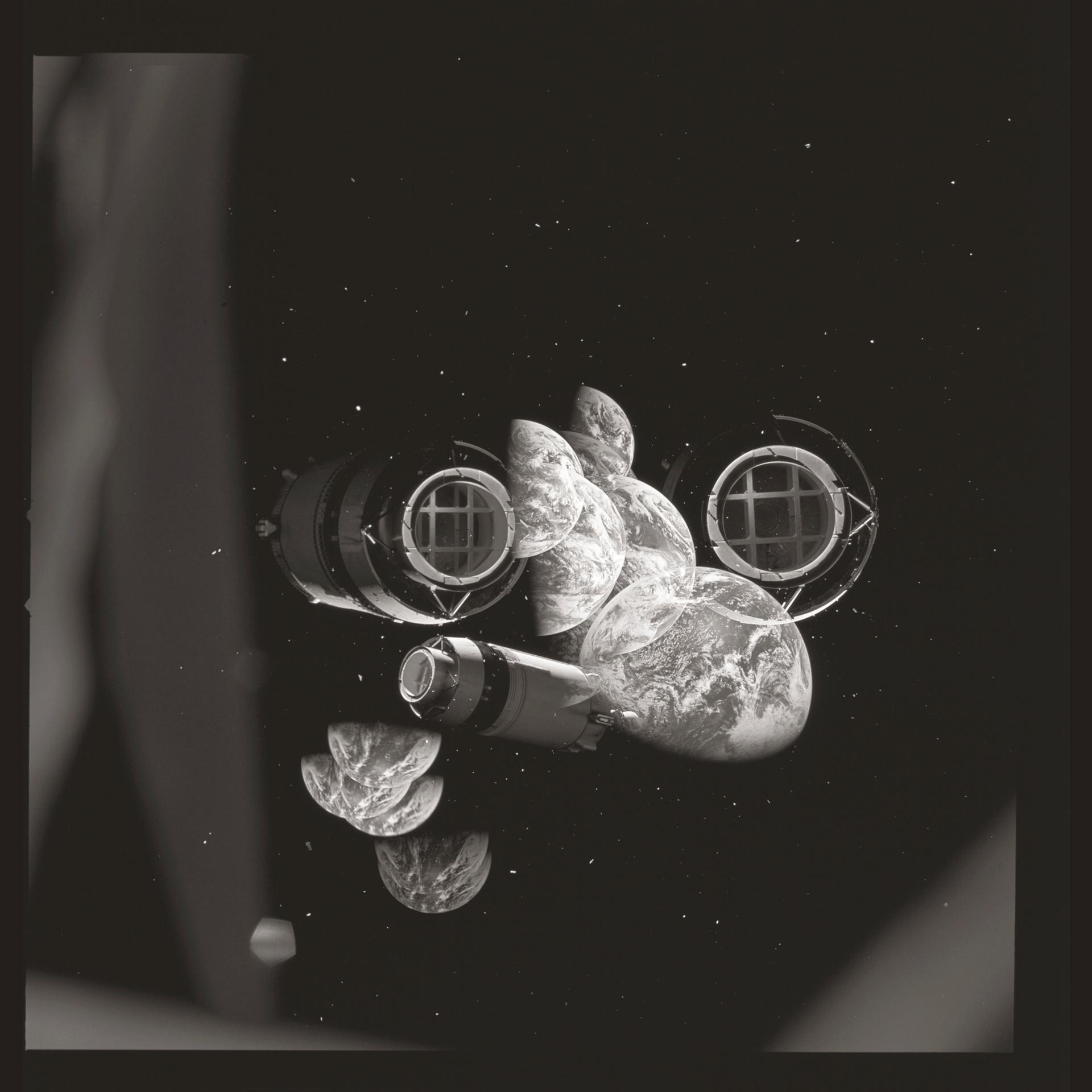 Apollo 8   AS08 rollo 16. Fotogramas 2582 a 2658. 24 de diciembre de 1968.